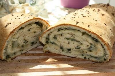 приманка из хлеба с чесноком