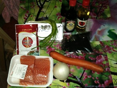 мисо супа с лососем рецепт с фото