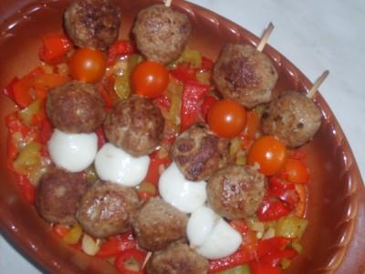 Овощи запеченные в духовке в фольге