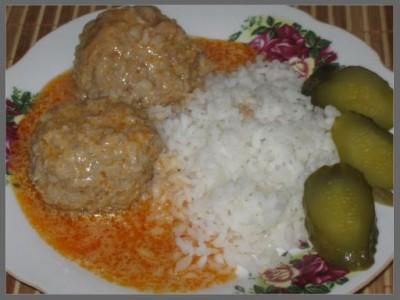 Тефтели с рисом и гречкой картинки