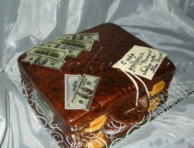 Мастер класс торт чемодан