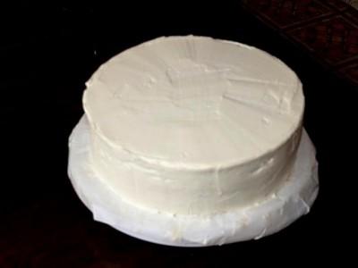 каким покрытием покрывается белый свадебный торт рецепт