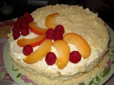 Пирожное сладкоежка рецепт с фото