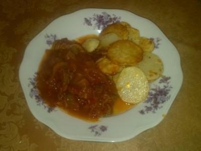 Азу по-татарски»: Вторые блюда