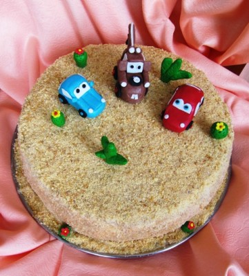 Украшение тортов на 5 лет мальчику 100