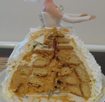 Бисквитный торт с сгущенкой и маслом фото 10