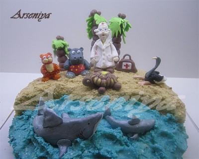 Торт детская площадка торт чебурашка