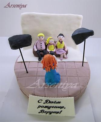 Торт с минни маус торт пара в джакузи