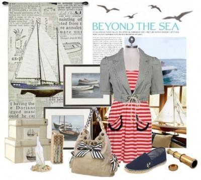 Морской стиль особенно приятен тем, что он легко узнаваем
