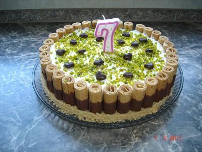 Торт своими руками ребёнку на день рождения