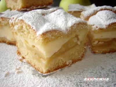 простой торт с заварным кремом рецепт с фото