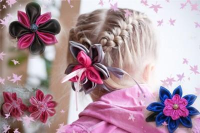 Цветы из ткани (МАСТЕР-КЛАСС.