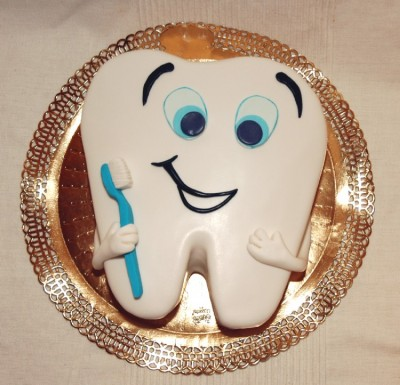 Торт для стоматолога своими руками