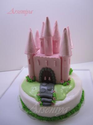 Мои тортики и украшения из мастики