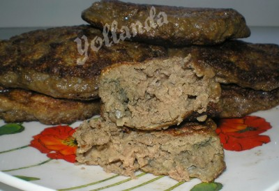 печеночные оладьи рецепт с фото пышные