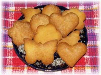 Печенье песочное на растительном масле рецепт с пошагово в