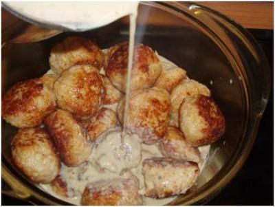 Блюда с тефтелями рецепты