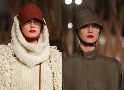 Источник.  Как видите, носить головной убор будущей осенью модно и интересно...