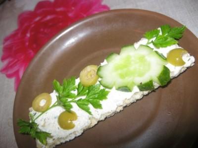 рецепты бутерброды с сыром альметте