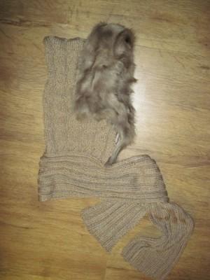 вязание спицами для женщин шарф хомут.
