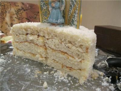 Торт с брусникой и шоколадом фото 12