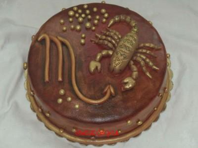 Скорпион из мастики страница 2 торты