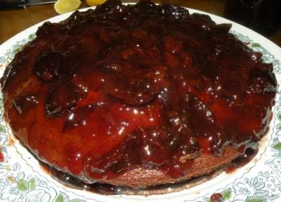 Торт без выпечки с бананом и зефиром фото 13