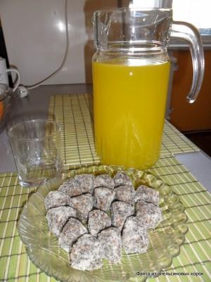 Как сделать напиток с апельсиновых корок