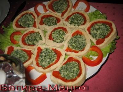 Закуски для фуршета рецепты с фото простые и вкусные