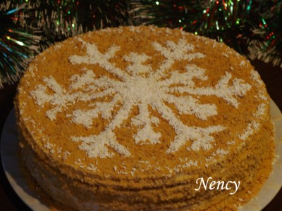 Торт медовик бабушкин