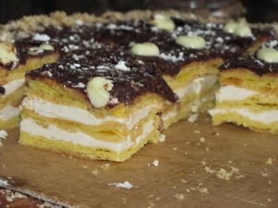 Бисквитный торт с белковым кремом видео рецепты