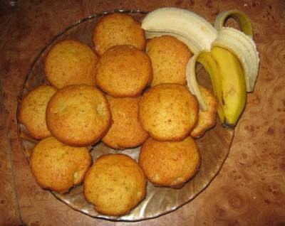 выпечка с творогом и бананом рецепты с фото