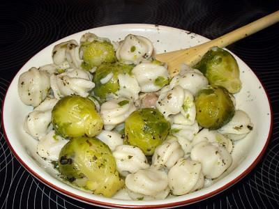 Блюда из листьев брюссельской капусты