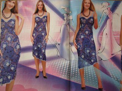 Платье ажурным узором. Вязание