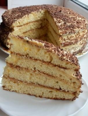 Торт на сгущенке рецепт по домашнему