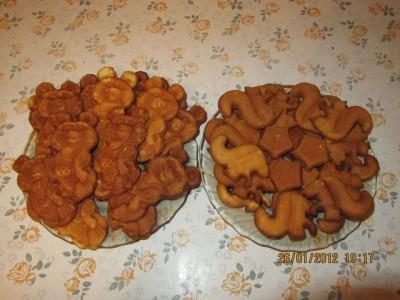 печенье белочки рецепт