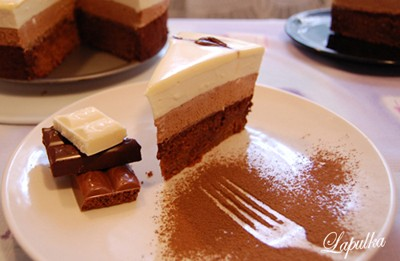 торт в шоколаде пошаговый рецепт