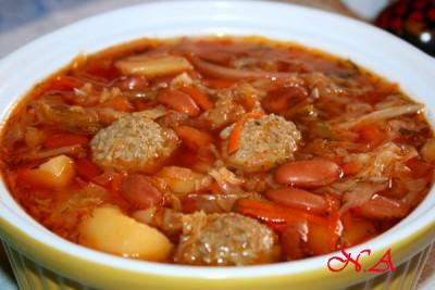 Рагу с курицей и овощами по домашнему рецепт