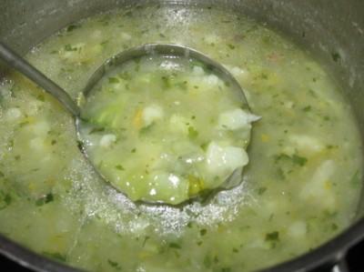 рецепт супа из брокколи с рисом