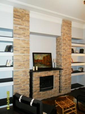 искусственный камин в квартире фото
