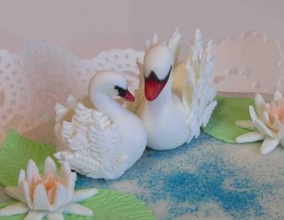 Свадебный торт своими руками из мастики видео