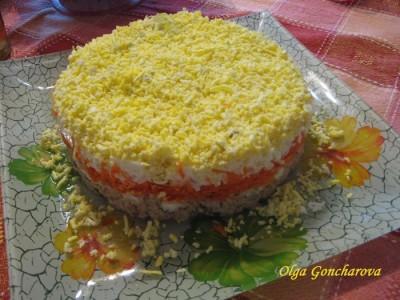 Салат мимоза салаты