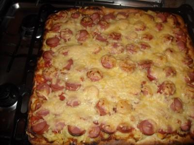 пицца на сметане в мультиварке рецепты