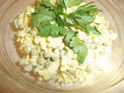 Салат чайка с сыром