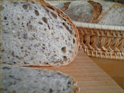 Как вы уже поняли,зерновые хлеба у меня в любимчиках :) Наивкуснейший хлеб,как впрочем все хлеба от Хэмелмена.