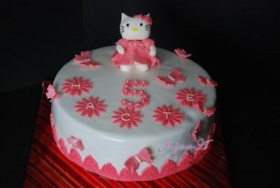 Торт китти пошаговое из мастики