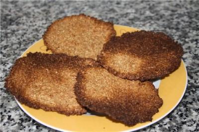 Хлебцы из отрубей по дюкану