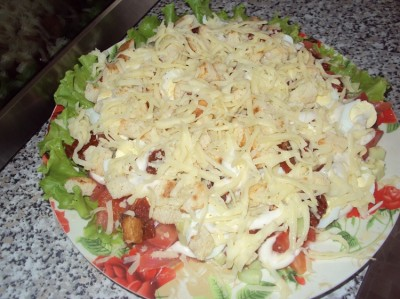 Салат 21 век в молнии рецепт
