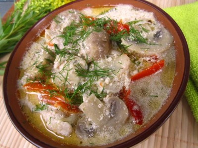 Рецепты блюд из шампиньонов с курицей