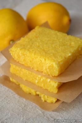 лимоное пироженое рецепт